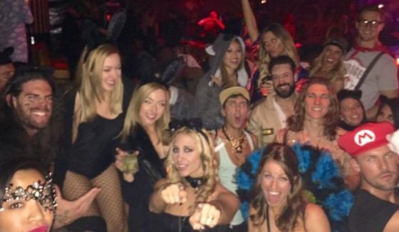Big Brother Houseguests celebrate Halloween 2015