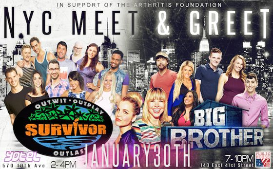 Big Brother & Survivor Meet & Greet in NYC