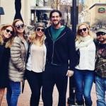 Liz, Austin, and friends in Texas