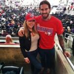 Liz Nolan & Austin Matelson at the Staples Center