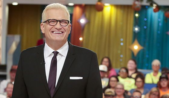 Drew Carey hosts The Price Is Right on CBS