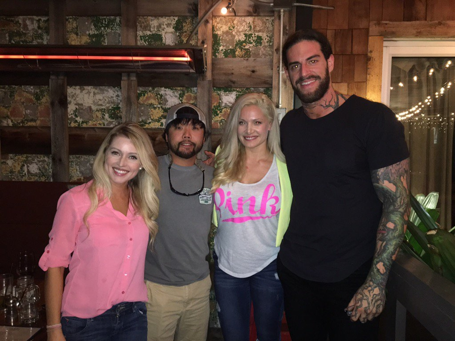 Britney, James, Janelle, & Austin