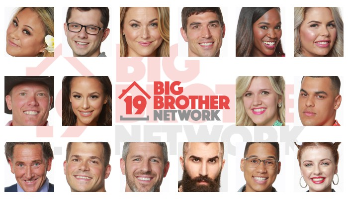Big Brother 19 Houseguests