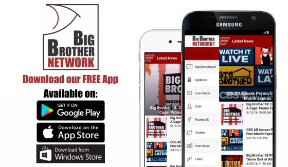Big Brother App – Download Now For Big Brother – Big Brother Network