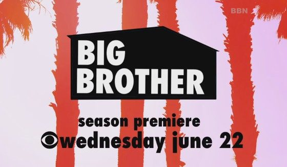 Big Brother 18 starts June 22, 2016 on CBS