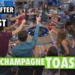 But after the first Champagne toast - BB18 promo