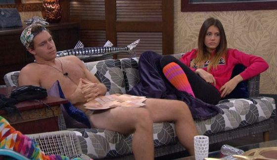 Frank and Tiffany waiting for Veto on BB18