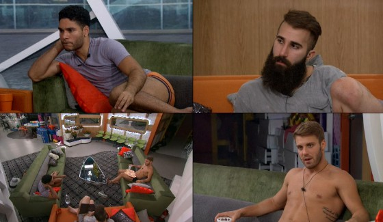 Big Brother 18 Houseguests Jozea, Paul, & Paulie