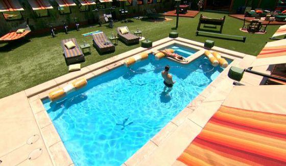 Big Brother 18 new pool design