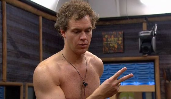Frank Eudy counts the votes on Big Brother 18