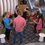 Big Brother 18 Houseguests champagne toast - 01