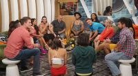 Big Brother 18 Houseguests gather in the living room