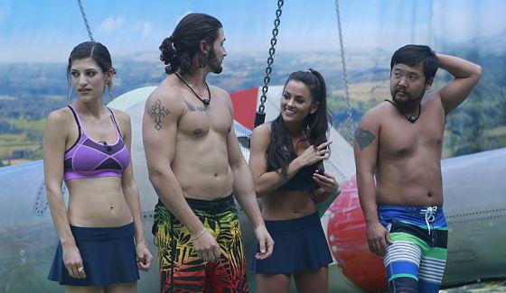 Team James on Big Brother 18