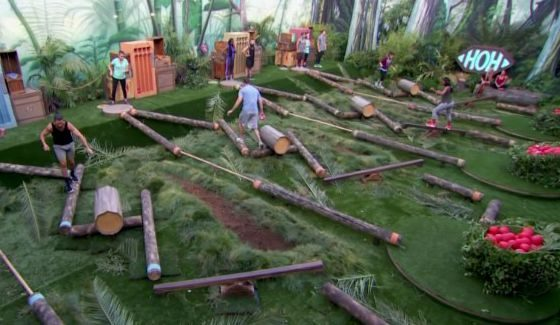 Berry Balance HoH comp on Big Brother 18