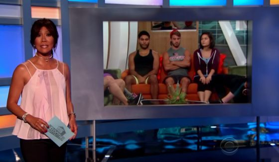 Julie Chen and Big Brother 18 live eviction