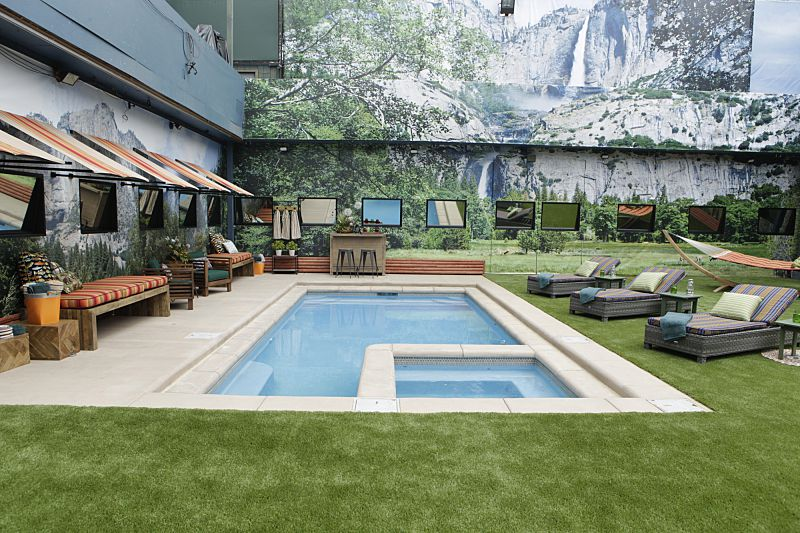New pool for Big Brother 18 house