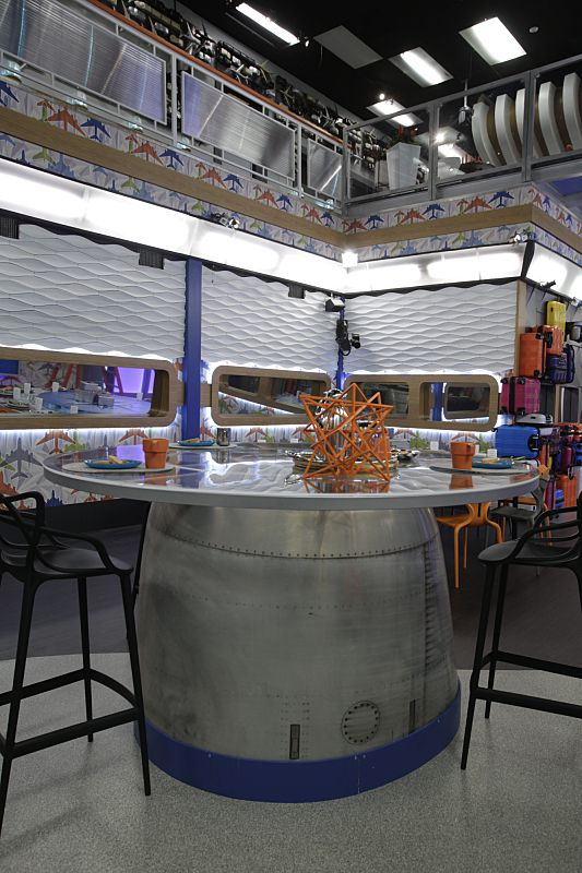 Kitchen island for Big Brother 18