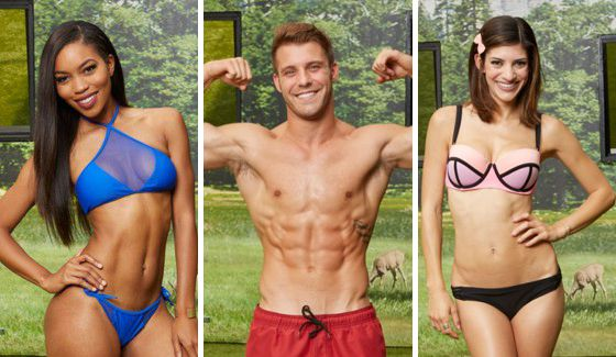 Big Brother 18 cast sporting their swimsuits