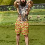 Paul Abrahamian - Big Brother 18 swimsuit photo