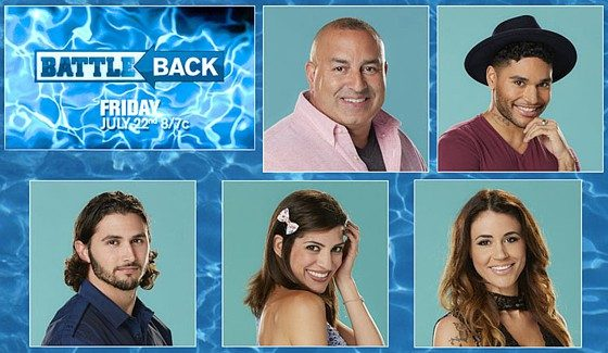 Battle Back Houseguests for Big Brother 18