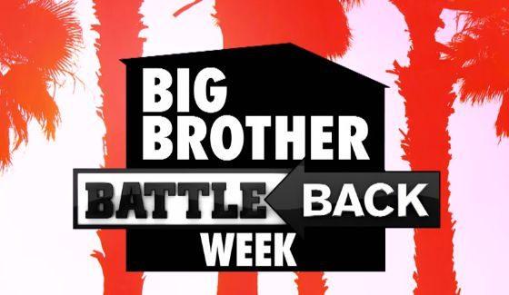 Battle Back Week on Big Brother 18 - CBS