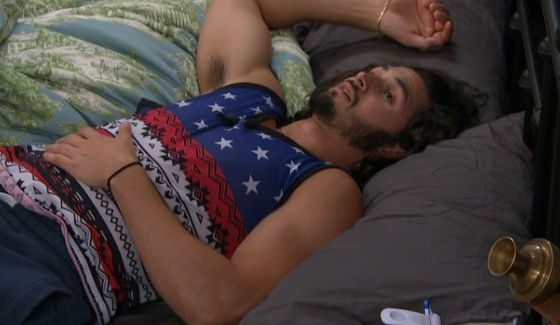 Victor Arroyo plays dead on Big Brother 18