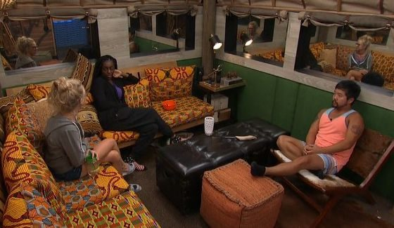 Big Brother 18's Vet HGs Nicole, Da'Vonne, & James