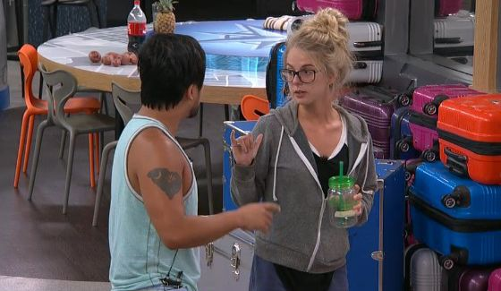 James Huling & Nicole Franzel on BB18