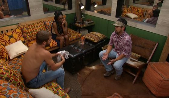 Paulie plans his nominations for the week