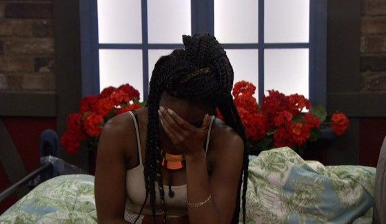Da'Vonne Rogers and the facepalm
