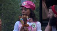 Zakiyah sports her Veto costume