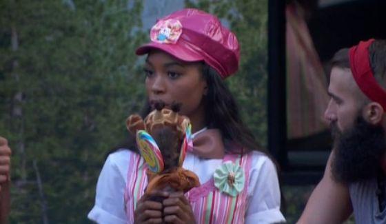 Zakiyah sports her Veto costume