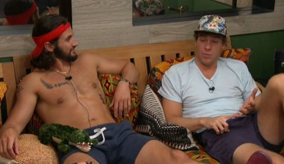 Victor & Frank enjoy the BB18 lounge