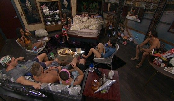 Big Brother 18 House Meeting courtesy of Frank