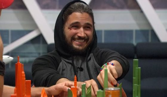 Victor is enjoying himself on Big Brother