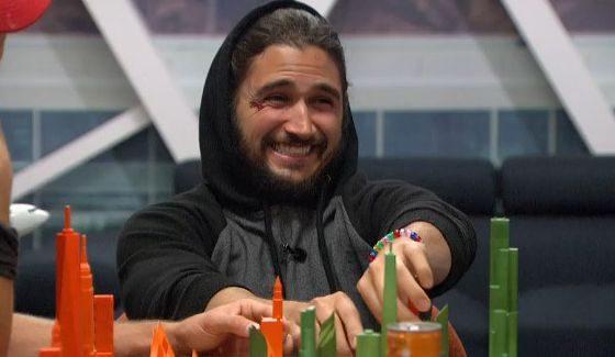 Victor is enjoying himself on Big Brother