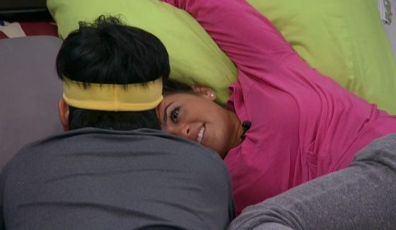 James and Natalie talk votes on Big Brother 18
