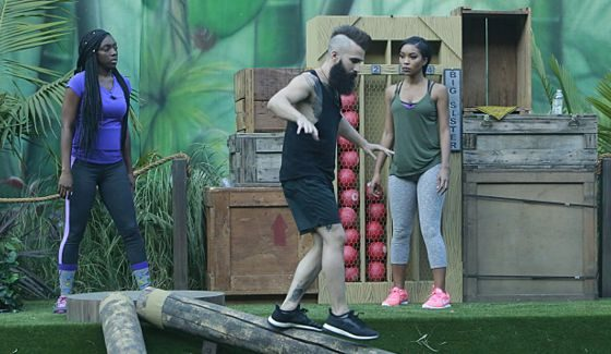 Paul Abrahamian competes for BB18 HoH