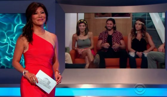 Julie Chen at Big Brother 18 FOTH