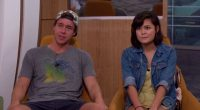 Frank Eudy and Bridgette Dunning on Big Brother 18