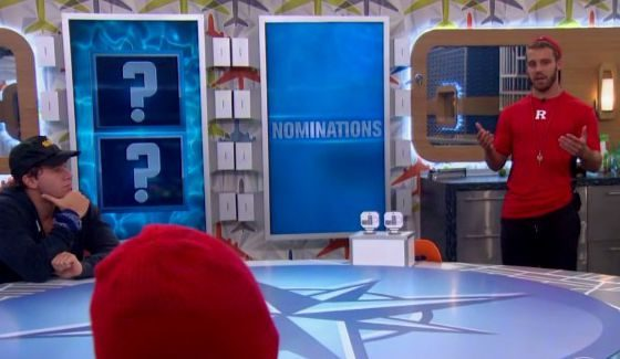 Paulie Calafiore makes his nominations on BB18