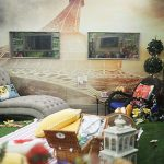 Paris themed room inside Big Brother 18 - 01