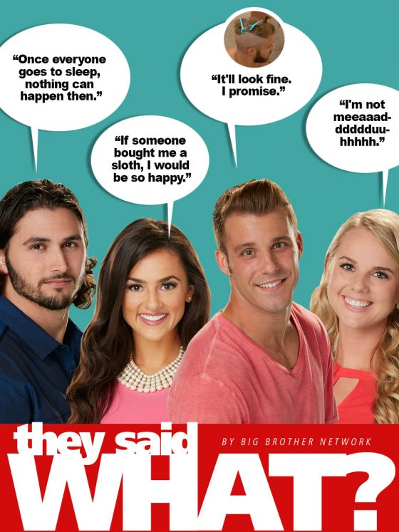 They Said What?? Week 5 of BB18