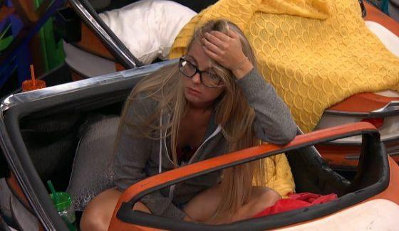 Nicole is exhausted on Big Brother 18