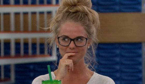 Nicole keeps an eye on Big Brother 18