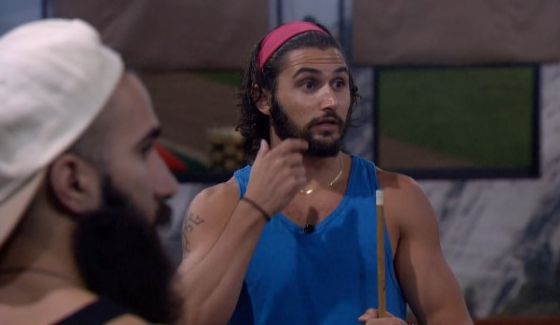 Victor talks with Paul and Paulie on Big Brother 18