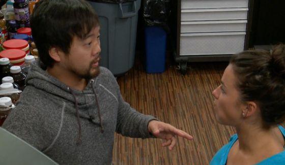 James tells Natalie he has an idea