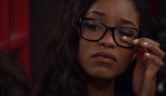 Zakiyah brought to tears over Paulie