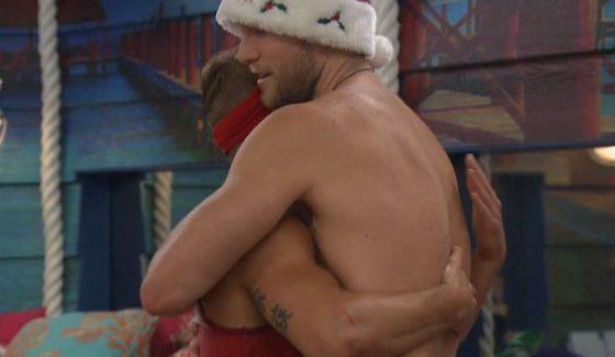 Corey comforts Paulie on Big Brother 18