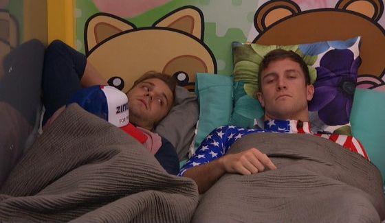 Paulie & Corey struggling on Big Brother 18
